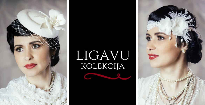 Līgavu cepuru un galvas rotu kolekcija