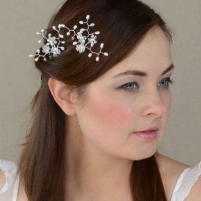 Matu rota līgavai ar pērlēm un Swarovski kristāliem – MR06