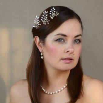 Matu rotājumi matu sprādzes līgavai -MR08