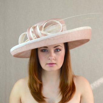 KAMILLA grezna platmalu cepure svētkiem