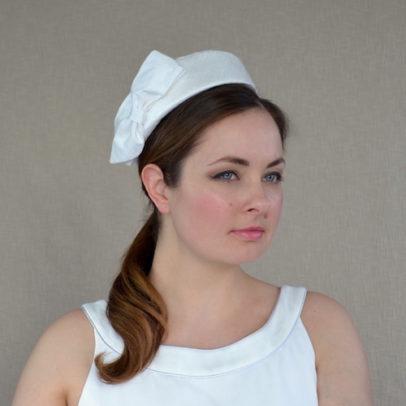 DZEINA zīda cepure līgavai